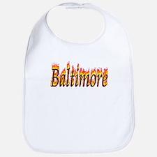 Baltimore Flame Bib