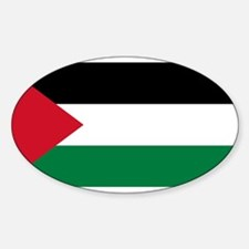 The Palestinian flag Decal