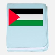 The Palestinian flag baby blanket