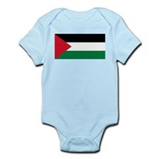 The Palestinian flag Body Suit