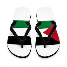 The Palestinian flag Flip Flops