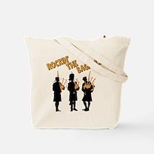 BAGPIPES (both sides) Tote Bag