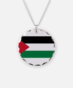 The Palestinian flag Necklace