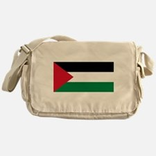 The Palestinian flag Messenger Bag