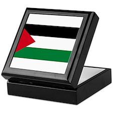 The Palestinian flag Keepsake Box