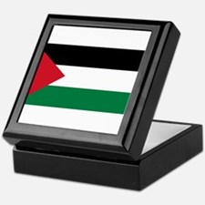 The Palestinian flag Keepsake Box