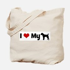 I love my Parson Russell Terr Tote Bag
