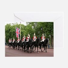 Royal Household Cavalry, London Greeting Card