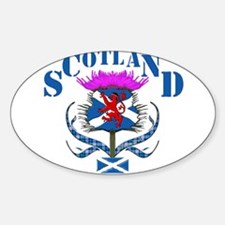 Cute Saltire thistle Decal