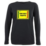 Two Way Traffic 3 Plus Size Long Sleeve Tee
