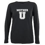 Mother U Plus Size Long Sleeve Tee