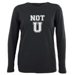 Not U Plus Size Long Sleeve Tee