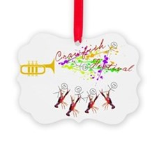 CRAWFISH FESTIVAL with Stick Peop Ornament
