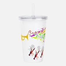 CRAWFISH FESTIVAL with Acrylic Double-wall Tumbler