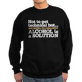 Alcohol Sweatshirt (dark)
