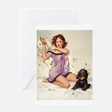 Pin Up: Lingerie ! Greeting Cards