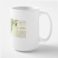 Vintage Map of The Puget Sound (1867) Mugs