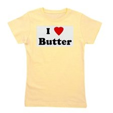 Unique I love peanut butter Girl's Tee