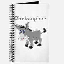 Personalized Donkey Journal