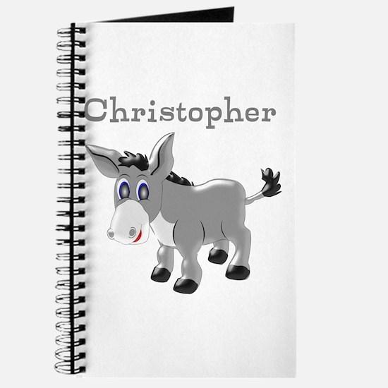 Personalized Donkey Journal
