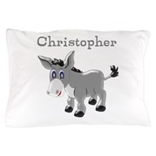 Personalized Donkey Pillow Case