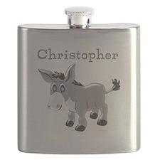 Personalized Donkey Flask