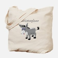Personalized Donkey Tote Bag