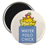 Water Polo Chick Magnet