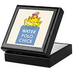 Water Polo Chick Keepsake Box