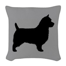 Australian Terrier Woven Throw Pillow