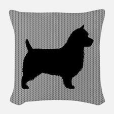 Australian Terrier Woven Throw Pillow
