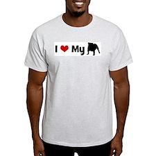 I love my English Bulldog T-Shirt