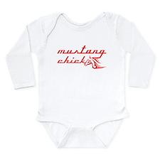 Cute Mustang 5.0 Long Sleeve Infant Bodysuit