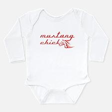 Unique Muscle girl Long Sleeve Infant Bodysuit
