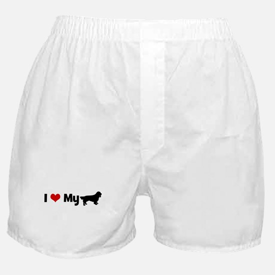 I love my Sussex Spaniel Boxer Shorts