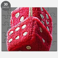 Red Fuzzy Dice Puzzle