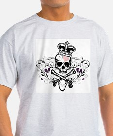 Royal Skull Design T-Shirt