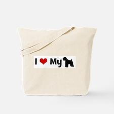 I love my Soft Coated Wheaton Tote Bag