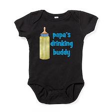 Funny Drinking Baby Bodysuit