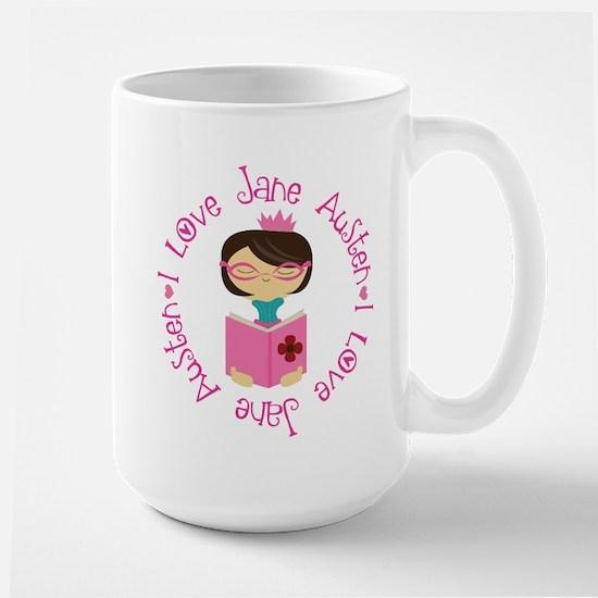 I Love Jane Austen Mugs