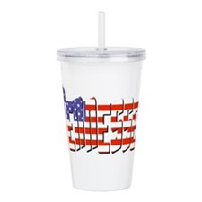 Patriotic Tennessee Acrylic Double-wall Tumbler