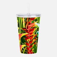Tropical Acrylic Double-wall Tumbler