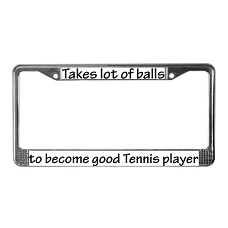Lots of Balls License Plate Frame