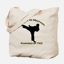 Taekwondo Honor in Motion Tote Bag