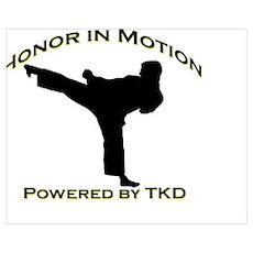 Taekwondo Honor in Motion Poster