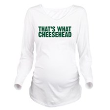 Unique Green bay Long Sleeve Maternity T-Shirt