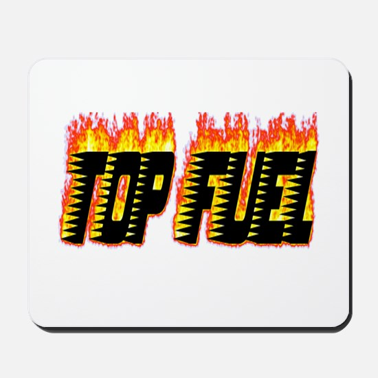 Top Fuel Flame Mousepad
