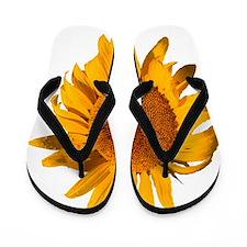 Cute Sunflower van gogh Flip Flops