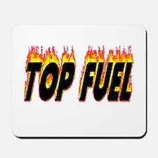 Top Fuel Flame Mousepad