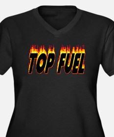 Top Fuel Flame Plus Size T-Shirt